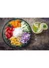 다이어트식사 건강 쌀 토마토 양파 레몬 이미지