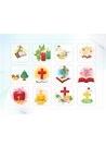 파워포인트 클립아트 크리스마스, 촛불, 십자가, 스핑크스