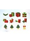 파워포인트 클립아트 크리스마스 선물, 트리, 종, 노리개