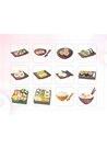 파워포인트 클립아트 초밥, 롤, 어묵, 오징어, 양념통