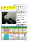용접기 작업표준서