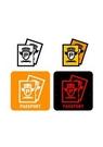 GII0106_04 픽토그램아이콘 여권