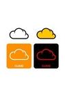 GII0107_02 픽토그램아이콘 구름