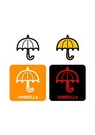 GII0107_04 픽토그램아이콘 우산