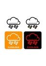GII0107_05 픽토그램아이콘 비구름