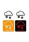 GII0107_07 픽토그램아이콘눈구름