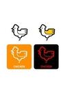 GII0119_06 픽토그램아이콘닭