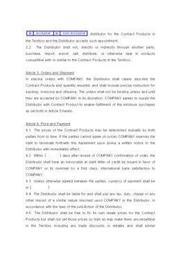 판매점계약서(영문) page 2