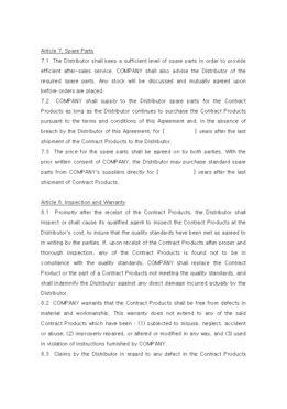 판매점계약서(영문) page 4