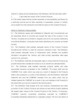 판매점계약서(영문) page 5