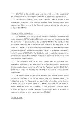 판매점계약서(영문) page 8