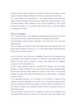 해외 임대차계약서(영문) page 5