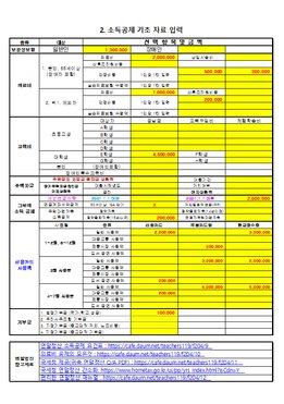 2021년 교원봉급표 세부 명세서 프로그램 및 연말정산(ver 4.5) page 3