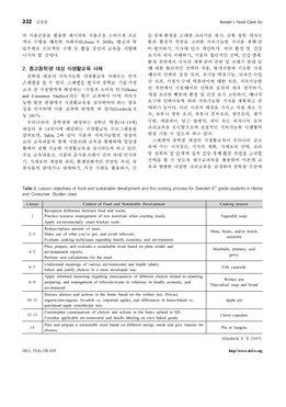 해외 지속가능한 식생활교육의 학교급별 사례 분석과 방향탐색 page 5